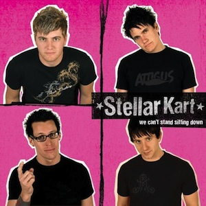 We Can't Stand Sitting Down by Stellar Kart